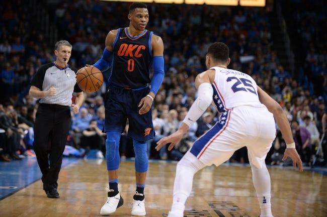 NBA | Oklahoma City Thunder at Philadelphia 76ers