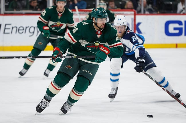Winnipeg Jets vs. Minnesota Wild - 4/11/18 NHL Pick, Odds, and Prediction
