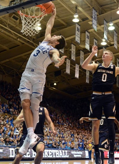 Duke vs. Notre Dame - 3/8/18 College Basketball Pick, Odds, and Prediction