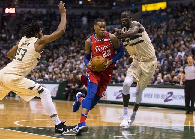 Milwaukee Bucks vs. Philadelphia 76ers - 3/4/18 NBA Pick, Odds, and Prediction