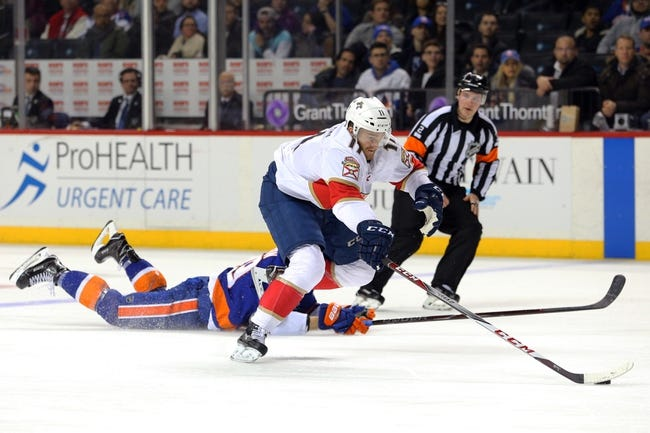 NHL | Florida Panthers (38-28-7) at New York Islanders (31-34-10)