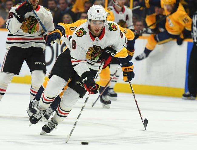 NHL | Nashville Predators (22-10-2) at Chicago Blackhawks (10-19-6)
