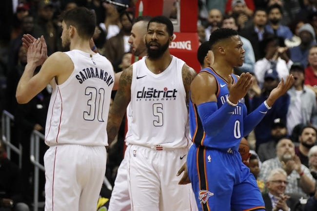 NBA | Oklahoma City Thunder (3-4) at Washington Wizards (1-6)