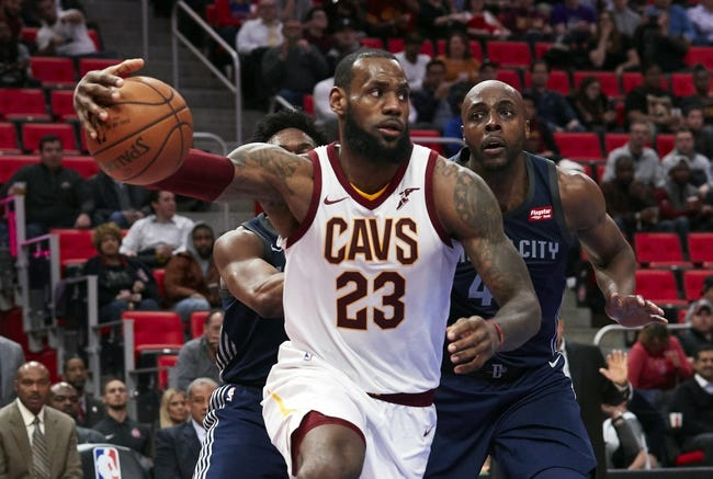 Cleveland Cavaliers vs. Detroit Pistons - 3/5/18 NBA Pick, Odds, and Prediction