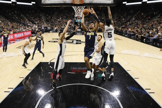 Denver Nuggets vs. San Antonio Spurs - 2/13/18 NBA Pick, Odds, and Prediction