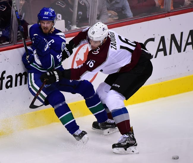 Vancouver Canucks vs. Colorado Avalanche - 2/20/18 NHL Pick, Odds, and Prediction