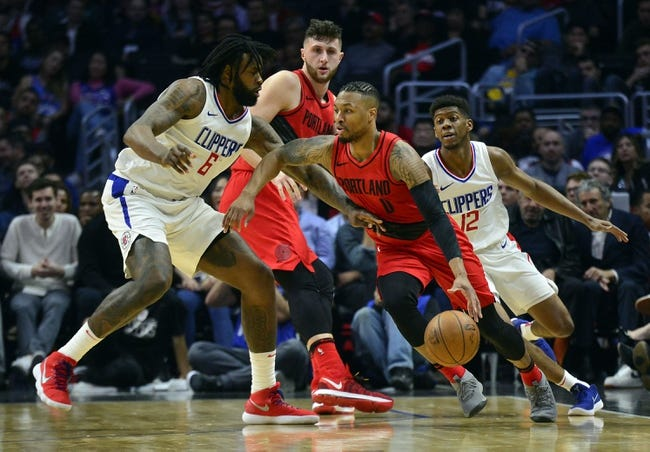 Los Angeles Clippers vs. Portland Trail Blazers - 3/18/18 NBA Pick, Odds, and Prediction