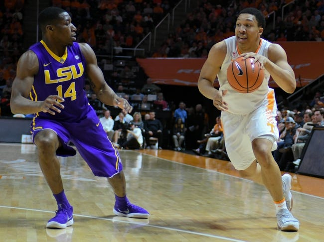 NCAA BB   Tennessee at LSU