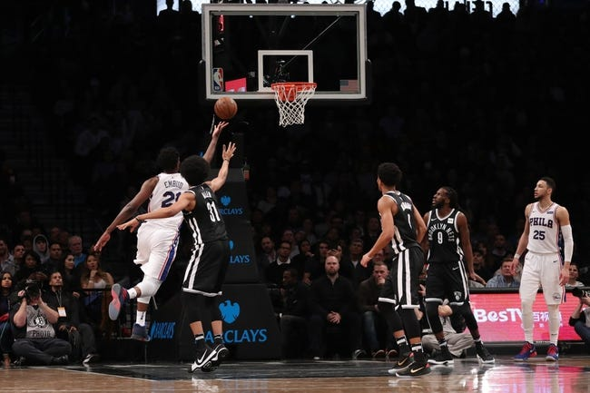 Brooklyn Nets vs. Philadelphia 76ers - 3/11/18 NBA Pick, Odds, and Prediction