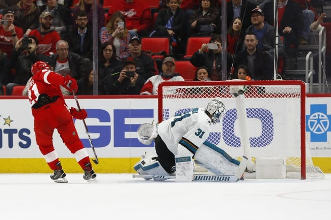 San Jose Sharks vs. Detroit Red Wings - 3/12/18 NHL Pick, Odds, and Prediction