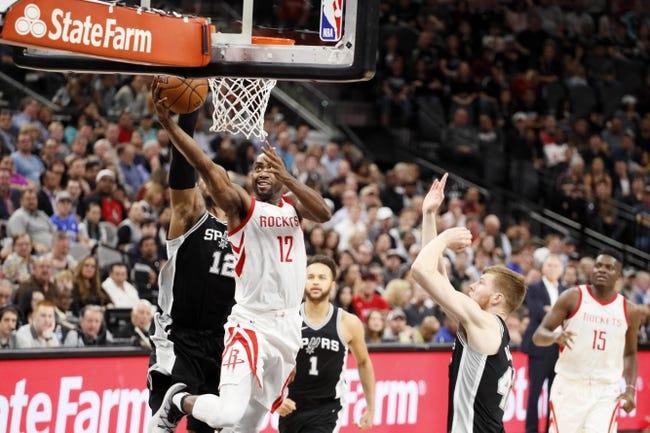 Houston Rockets vs. San Antonio Spurs - 3/12/18 NBA Pick, Odds, and Prediction