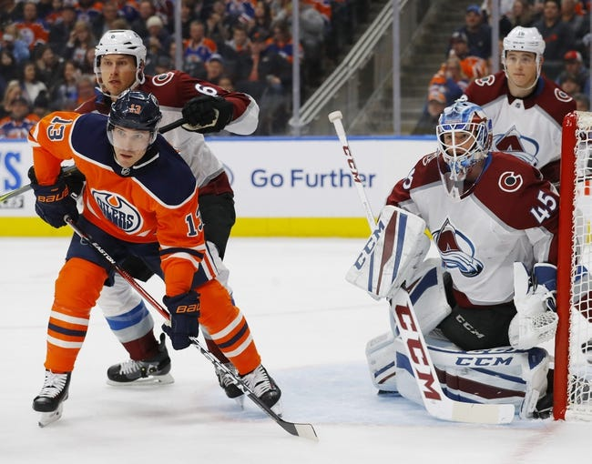 Colorado Avalanche vs. Edmonton Oilers - 2/18/18 NHL Pick, Odds, and Prediction