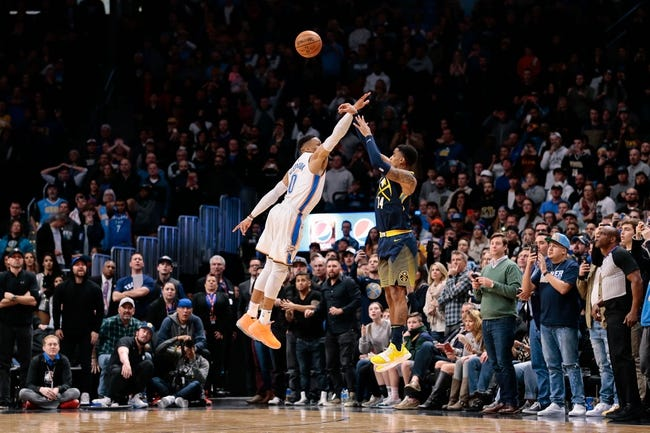 NBA | Denver Nuggets (40-35) at Oklahoma City Thunder (44-32)