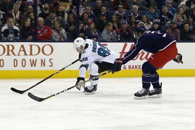 San Jose Sharks vs. Columbus Blue Jackets - 3/4/18 NHL Pick, Odds, and Prediction