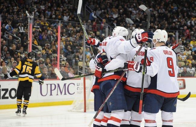 Pittsburgh Penguins vs. Washington Capitals - 4/1/18 NHL Pick, Odds, and Prediction