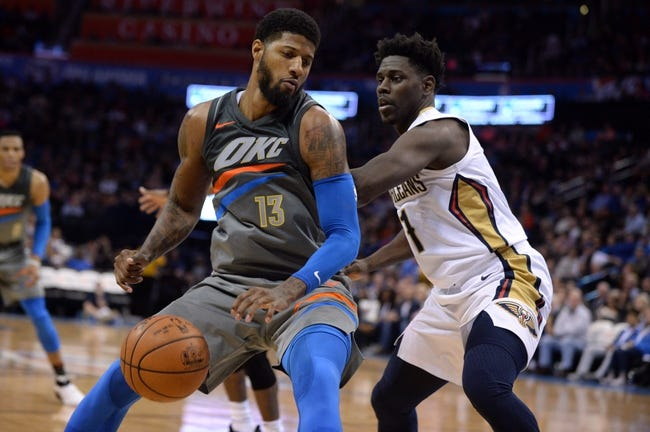 New Orleans Pelicans vs. Oklahoma City Thunder - 4/1/18 NBA Pick, Odds, and Prediction