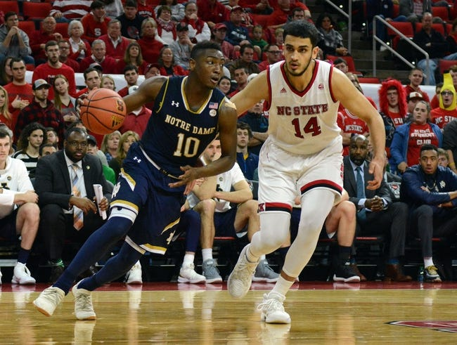 NCAA BB | UIC Flames (20-16) at Notre Dame Fighting Irish (21-15)