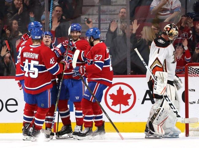 NHL | Anaheim Ducks at Montreal Canadiens