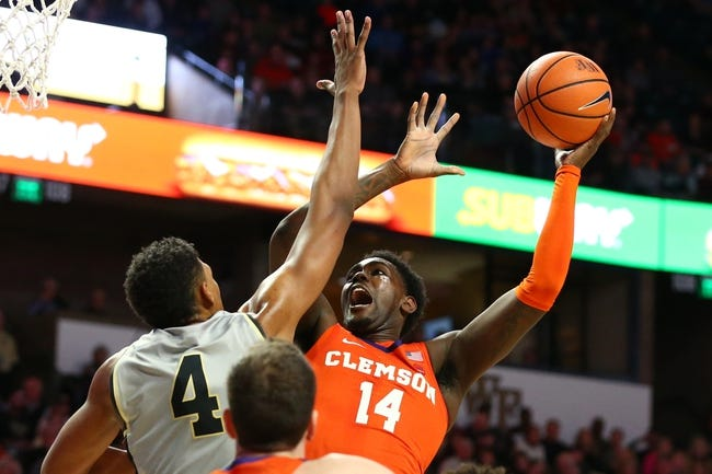 NCAA BB   Wake Forest at Clemson