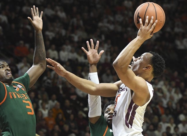 Miami vs. Virginia Tech - 3/3/18 College Basketball Pick, Odds, and Prediction