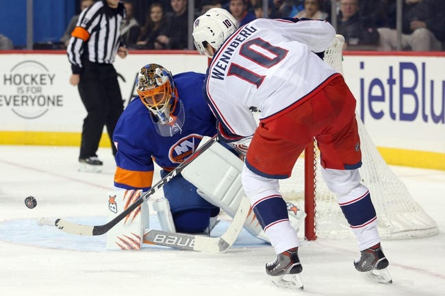 New York Islanders vs. Columbus Blue Jackets - 2/13/18 NHL Pick, Odds, and Prediction