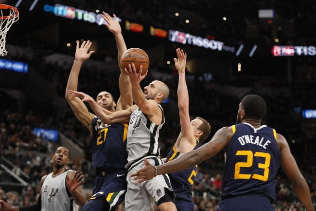 Utah Jazz vs. San Antonio Spurs - 2/12/18 NBA Pick, Odds, and Prediction
