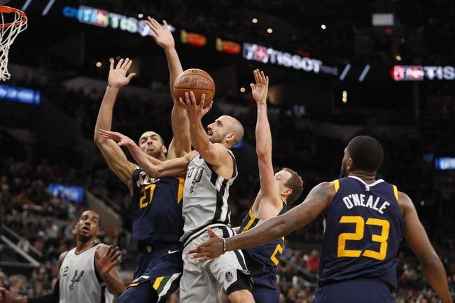 NBA | San Antonio Spurs (35-22) at Utah Jazz (28-28)