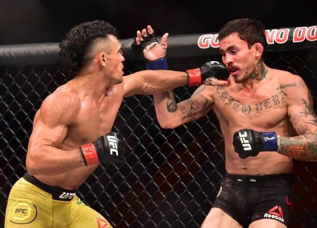 Wuliji Buren vs. Marlon Vera UFC 227 Pick, Preview, Odds, Prediction - 8/4/18
