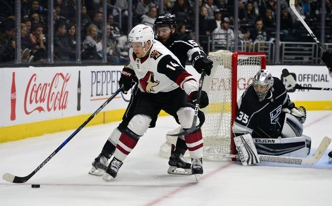 Arizona Coyotes vs. Los Angeles Kings - 3/13/18 NHL Pick, Odds, and Prediction