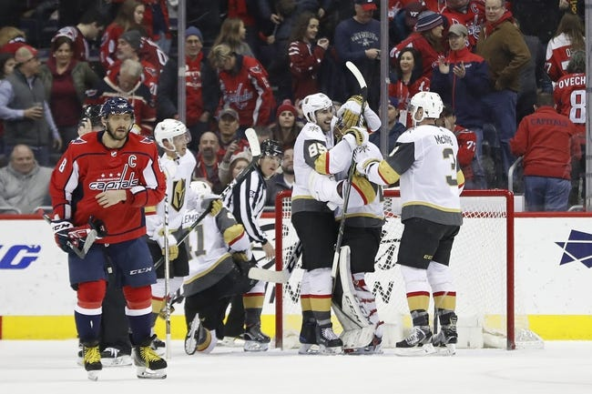 Washington Capitals at Vegas Golden Knights - Game 1 - 5/28/18 NHL Pick, Odds, and Prediction