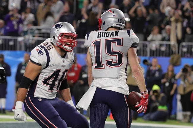 Philadelphia Eagles at New England Patriots - 8/16/18 NFL Pick, Odds, and Prediction