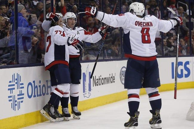 Washington Capitals vs. Columbus Blue Jackets - 2/9/18 NHL Pick, Odds, and Prediction