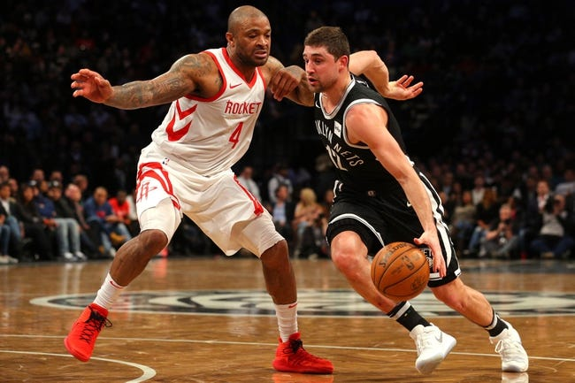 Brooklyn Nets vs. Houston Rockets - 11/2/18 NBA Pick, Odds, and Prediction