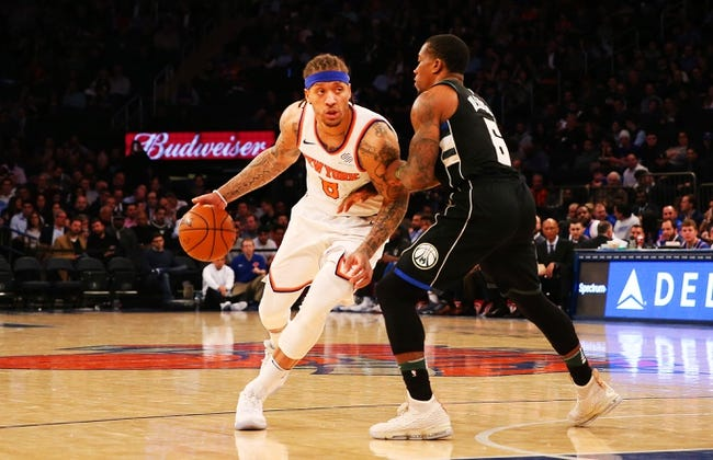 Milwaukee Bucks vs. New York Knicks - 3/9/18 NBA Pick, Odds, and Prediction