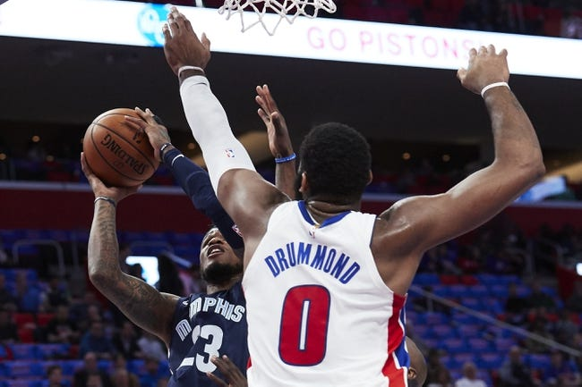 Memphis Grizzlies vs. Detroit Pistons - 4/8/18 NBA Pick, Odds, and Prediction