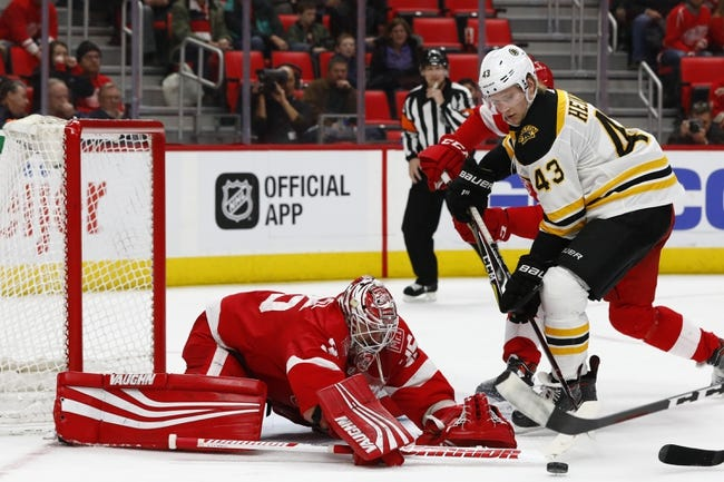 Boston Bruins vs. Detroit Red Wings - 3/6/18 NHL Pick, Odds, and Prediction