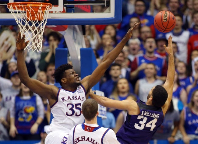 NCAA BB | TCU at Kansas