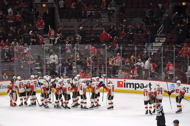 NHL | Chicago Blackhawks (6-5-3) at Calgary Flames (8-5-1)