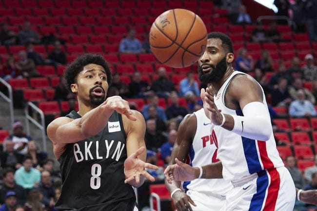 Brooklyn Nets vs. Detroit Pistons - 4/1/18 NBA Pick, Odds, and Prediction