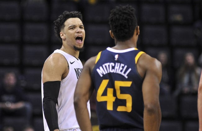Memphis Grizzlies vs. Utah Jazz - 3/9/18 NBA Pick, Odds, and Prediction