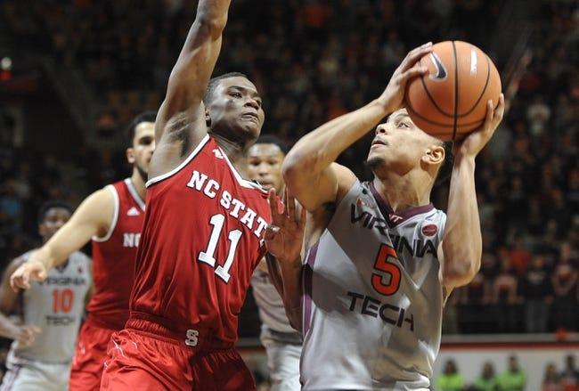 NCAA BB | Virginia Tech at North Carolina State