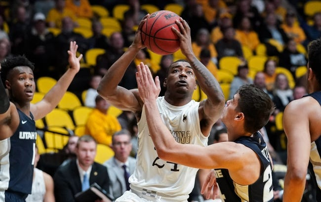 NCAA BB | Utah State at Wyoming