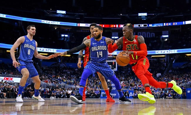 Atlanta Hawks vs. Orlando Magic - 4/1/18 NBA Pick, Odds, and Prediction