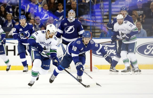 NHL | Vancouver Canucks (1-2-0) at Tampa Bay Lightning (1-0-0)