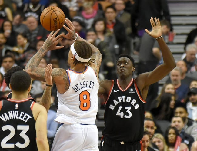 New York Knicks vs. Toronto Raptors - 3/11/18 NBA Pick, Odds, and Prediction