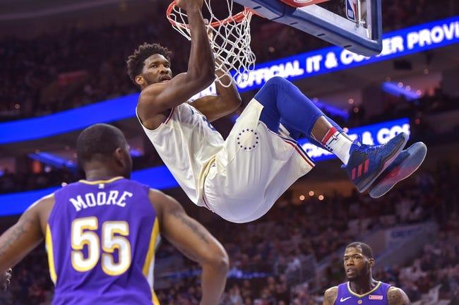 Philadelphia 76ers vs. New Orleans Pelicans - 11/21/18 NBA Pick, Odds, and Prediction