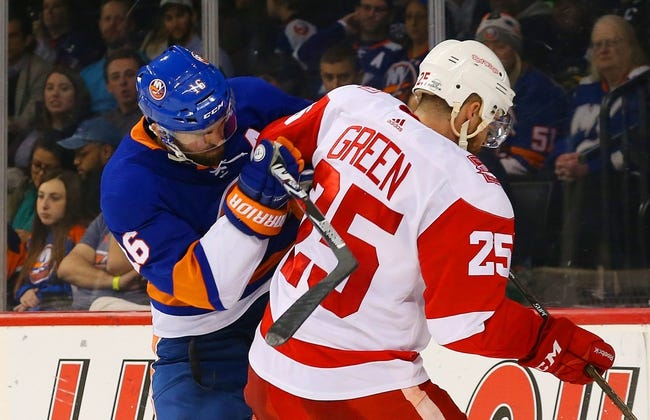 NHL | New York Islanders (34-37-10) at Detroit Red Wings (30-39-12)
