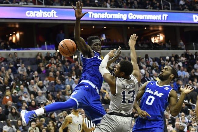 NCAA BB | Georgetown at Seton Hall
