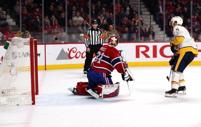 NHL   Montreal Canadiens - Nashville Predators