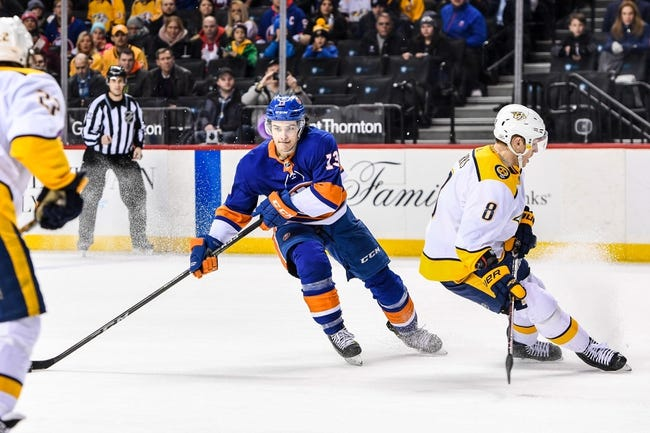 NHL | Nashville Predators (1-0-0) at New York Islanders (1-0-0)